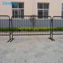 1.0mFactory Removable Galvanis Steel Metal Barrier Keselamatan