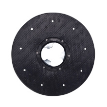 """AF09203 black color 15"""" 154 pad driver discs and parts electric scrubbing brush for floor scrubber machine with 154 clutch plate"""