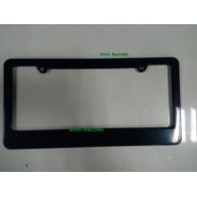 Black Custom License Plate Frames 312X160mm Universal for Americal Standard