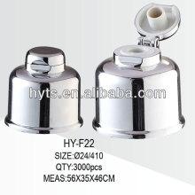 Capuchon supérieur en aluminium 24/410