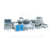 Full Automatic Computer-Controlled Patch Bag Handle Bag Multi-Function Making-Bag Machine