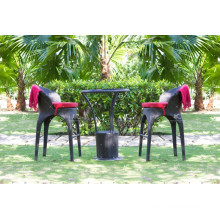 Exclusive Design Polyethylene Rattan Bar Sets For Outdoor Garden Wicker Furniture