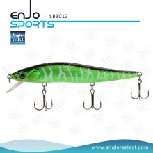 Angler Select Plastic Stick Bait Fishing Gear Fishing Tackle Lure with Vmc Treble Hooks (SB3012)