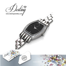 Destino joias cristal de Swarovski Royal Watch