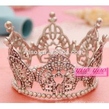 Melhor design nova chegada princesa costume cristal tiara
