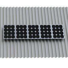 Solar Power Panel Wellfaser Zement Dachmontage Solar Dachmontage System
