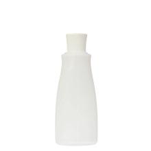 100 ml oval plastic facial scrub cream bottle