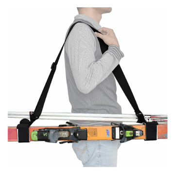 Correia de esqui Transportadora Snowboard Shoulder Fixing Belt
