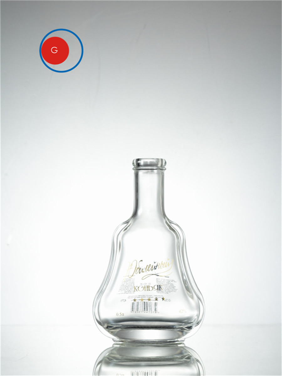 Glass Liquor Bottle