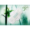 OEM bamboo sanitary pads with wings