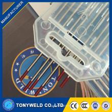 лучшая цена 2.0*150 Торированного вольфрамовый электрод Красный TIG сварки Вольфрамовые электроды