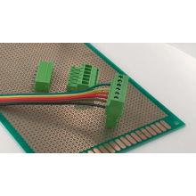 PCB top screws vertical pluggable terminal block connector
