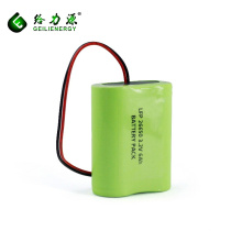 Großhandelspreise hohe qualität 26650 1S2P 6ah lifepo4 3.2v batterie lipo lifepo4