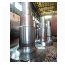 Eixo de forjamento para forno rotativo e secador rotativo