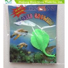 Los juguetes del cultivo de agua del proveedor de la fábrica los animales del océano amplían los juguetes