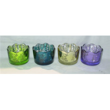 Copo Decorativo De Vidro Tealight Candle Cup