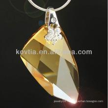 Оптовые прелестно оригинальные австрийские кристаллические ювелирные изделия элемента привесного элемента