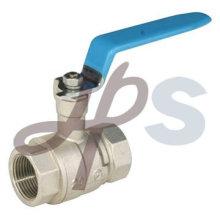 robinet à tournant sphérique de plomberie nickelé