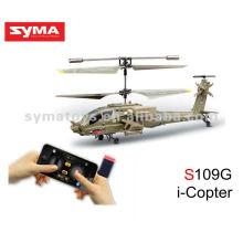 SYMA S109G i-Hubschrauber Hubschrauber mit Funksteuer-Legierungs-Haifisch-Hubschrauber
