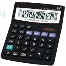 Calculadora de escritorio financiero de 14 dígitos