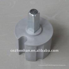 60mm Metall-Rollen-End-Stecker Markise Komponente-Buchse der Rolle Rohr Unterstützung-Kunststoff-End-Stecker für Markise