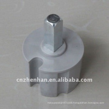 60mm metal roller end plug awning component-bush of roller tube support-plastic end plug for awning