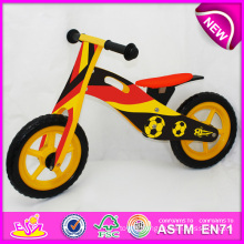 2014 New Wooden Bicycle Toy for Kids, Wooden Balance Bike Toy for Children, Wooden Bike, Wooden Bicycle, Bike Set Factory W16c082