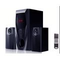 2.1 potente altavoz multimedia con USB SD FM