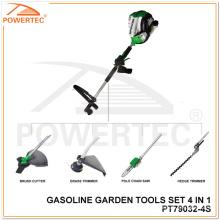 Powertec 4-Takt 4 in 1 Gartenwerkzeug-Set (PT79032-4S)
