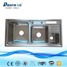 DS9245 производитель кухонных принадлежностей посуда двойной раковиной из нержавеющей стали с коробка погани