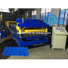 Высококачественный алюминиевый лист Metcoppo Плиточный роликовый станок, Metcoppo Roofing Tile Making Machine
