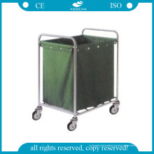 Chariot d'hôpital AG-Ss013 pour les vêtements sales (avec un sac de suspension)