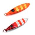 MJL001 Nuevo señuelo de la pesca del peso diferente señuelo de la plantilla del cebo artificial del metal