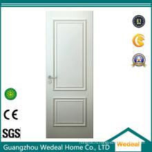 Окрашенная белая рама из МДФ и рельсовая дверь