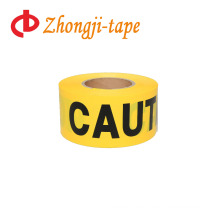 good packing yellow caution tape