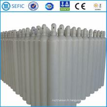 Cylindre à gaz en acier sans soudure haute pression 40L (ISO9809-3)