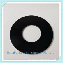 Big Ring Permanent NdFeB Magnet with Zinc Coating