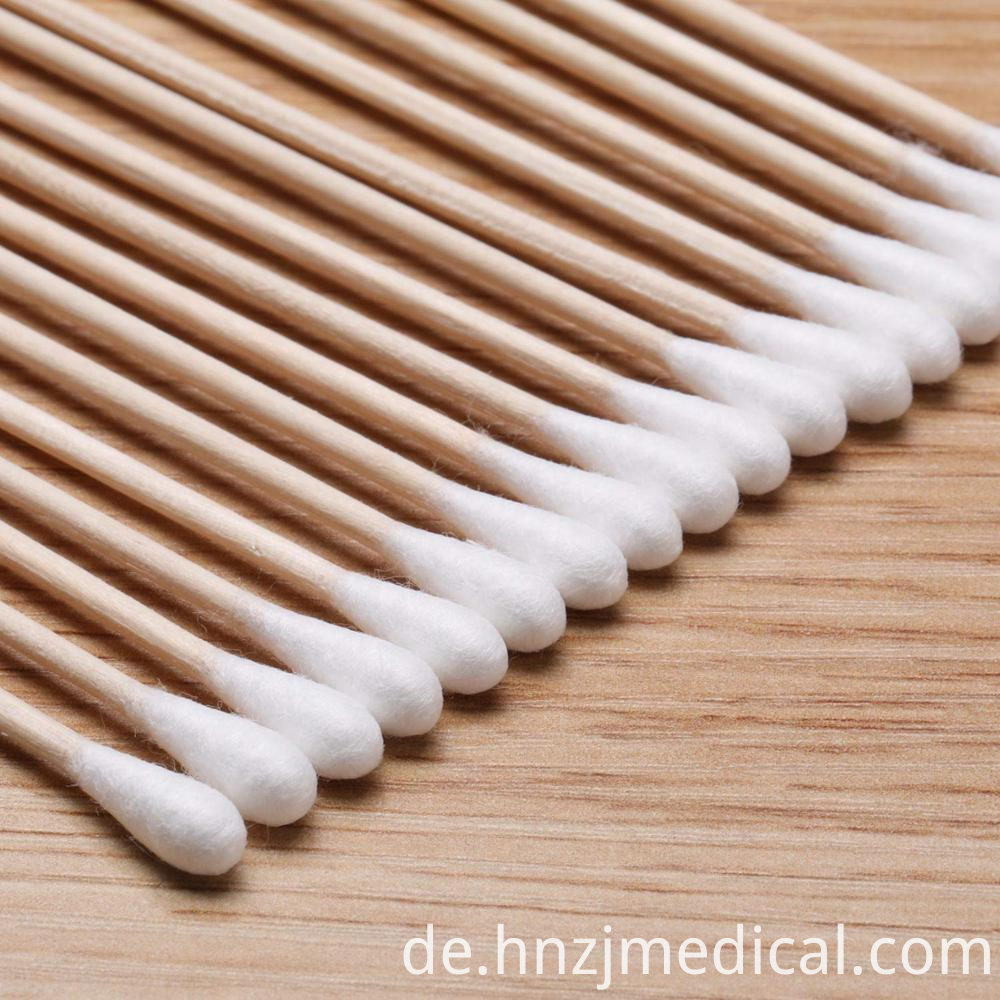 Skimmed Cotton Swab
