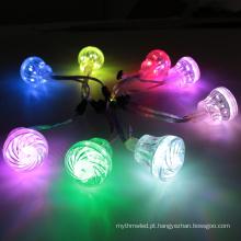 Luz conduzida impermeável do ponto da luz digital do pixel de 45mm DC24V RGB para o divertimento