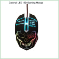 10% Discount Cool Design Colorful 6D LED Wired Optical Gaming Mouse (M-65)