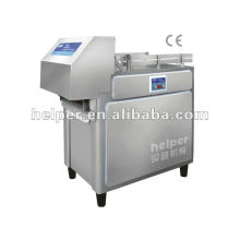 Frozen meat cutting machine