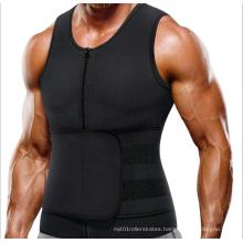 Wholesale Neoprene Men Sauna Sweat Jacket Vest