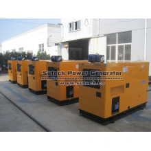 Promotion Portable Electric 25kva Slient Diesel Generators for home use with best price