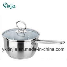 Korea Hot Selling Stainless Steel Noodle Pot/Milk Pot Cookware