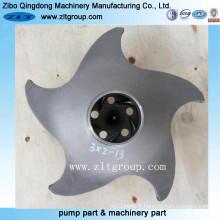 Roue de pompe Durco en acier inoxydable / acier allié
