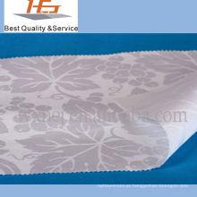 100 tecido de jacquard de flor de algodão