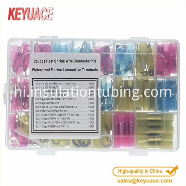 Electrical Crimp Terminal Kit Terminal