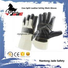 Dark Furniture Leather Work Industrial Safety Work Glove