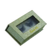 Window eyelashes paper boxes with glitter