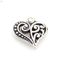 Hanging heart charms,heart charms bulk jewelry